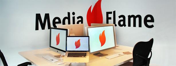 Kantoor Media Flame